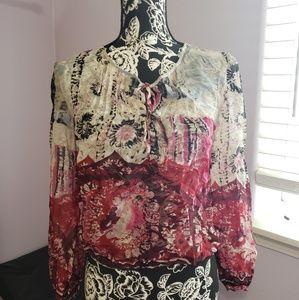 100% natural silk blouse NWT